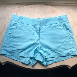 J Crew 100% Cotton Chino Broken-In Shorts